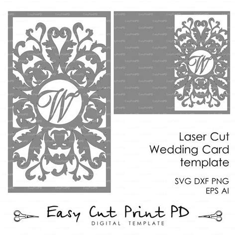 dxf templates wedding invitation card template flourish lace folds cover