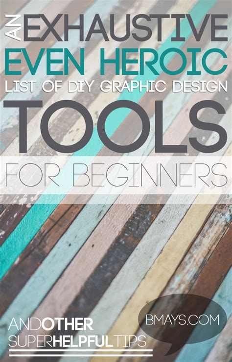 free online design tools for diy graphic design exhaustive even heroic list of diy graphic design tools