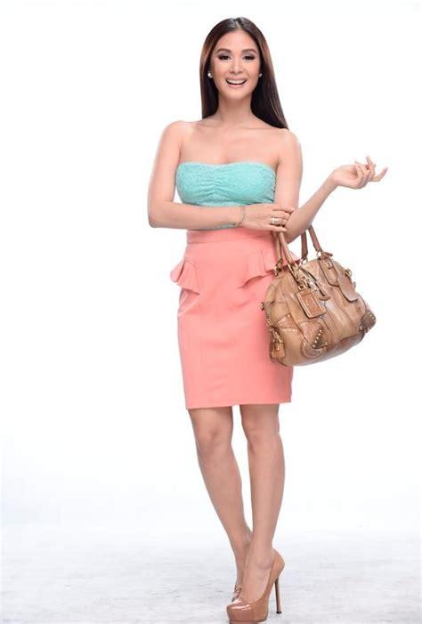 Heart Evangelista  Blue Pink Dress #SossyProblems   Heart