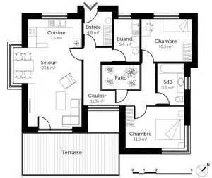 Superbe Plan Maison Avec Patio #2: 1-313075-6557