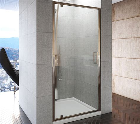 Shower Door 900 Beo Designer Frameless Pivot Shower Door 900 X 1850mm Aq9313s