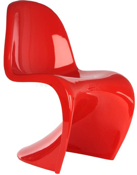 2 Chair Dining Table Verner Panton Style S Chair Plastic Style Swiveluk Com
