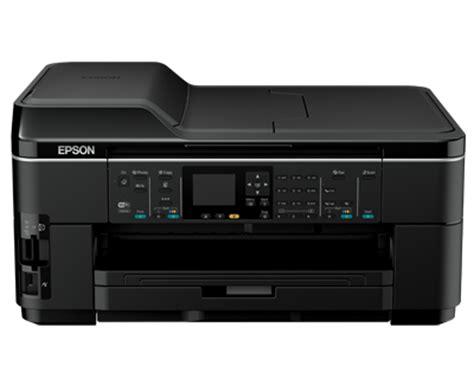 Printer Epson Wf 7511 A3 epson wf 7511 a3 彩色商务复印一体机 爱普生中国