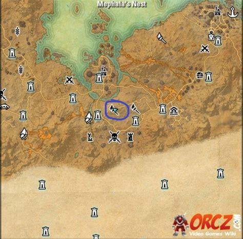 skyshard eso locations map eso stonefalls skyshards mephala s nest skyshard orcz