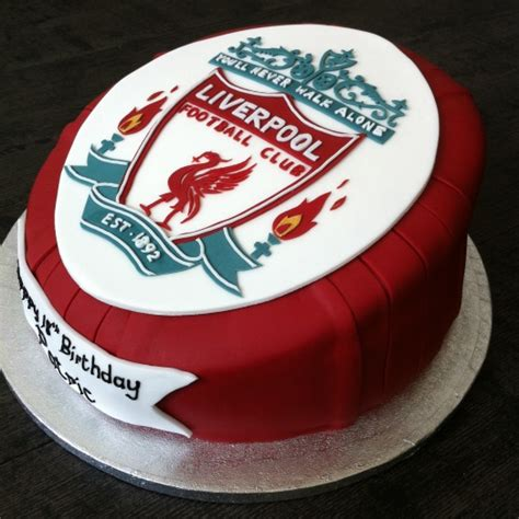 liverpool crest ultimate cake art