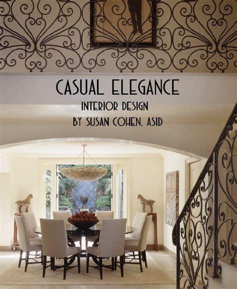casual elegance interior design  susan cohen asid