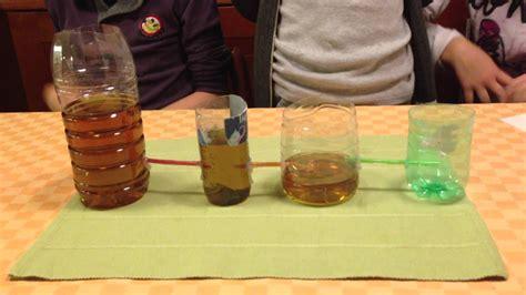 principio dei vasi comunicanti esperimento di scienze vasi comunicanti 1