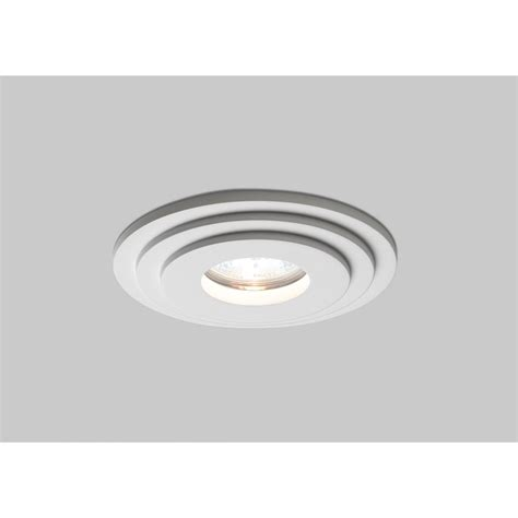 astro brembo 12v ceiling light in white plaster
