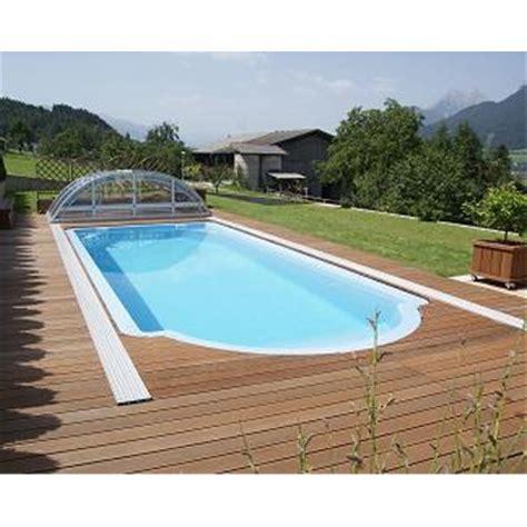 schwimmbecken aus gfk gfk schwimmbecken rechteckiger pool aus polyester 8 60 x 3