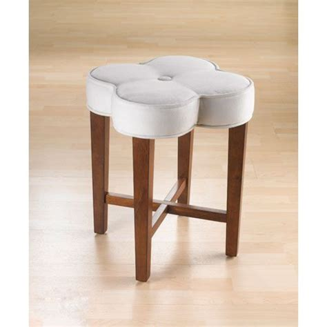 clover cherry vanity stool hillsdale furniture counter