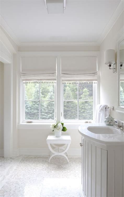 roman blind bathroom love the roman shades interiors bathrooms powder