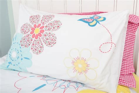 Quilt Pillowcase by Floral Quilted Pillowcase Gift Wrapped Gorgeous