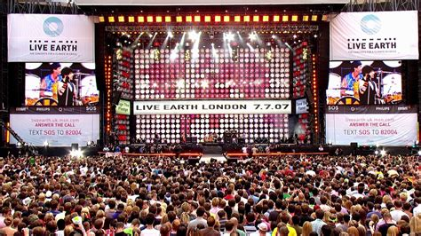 live earth live earth concert wembley 2007