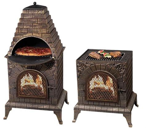 chiminea with pizza oven 5 pizza ovens you can buy right now designrulz