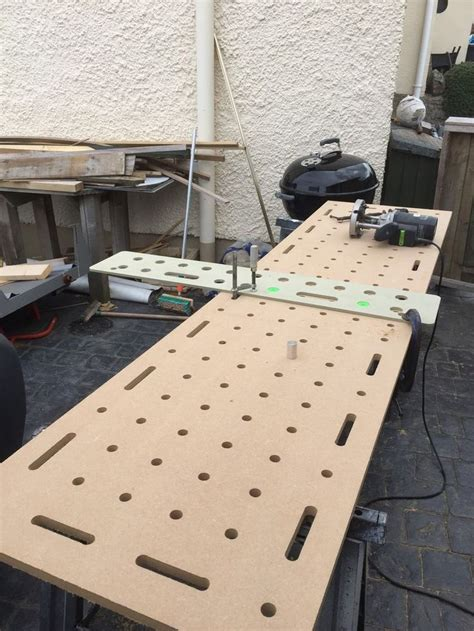 1000 Images About Mft Table On Pinterest Workbenches Ron Paulk And Festool Tools Festool Mft Top Template