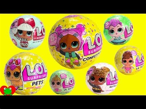 Egg Dolls Lol Anniversary Edition Glitter Serie lol pets ultra find videomoviles
