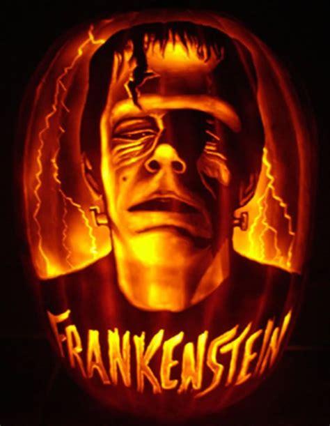 frankenstein literary pumpkins pinterest