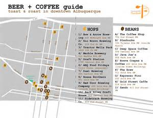 map of downtown albuquerque highlights local shops krqe