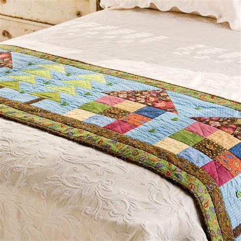 Patchwork Bed Runner Patterns - 1000 ideas about bed runner on table runners