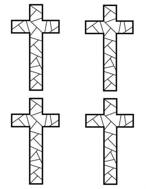 christian mosaic coloring pages free printable cross coloring pages mosaic crosses free