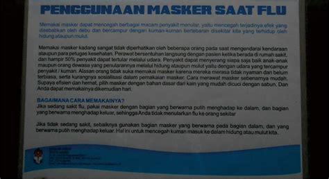 Masker Kesehatan Penutup Hidung Masker Sekali Pakai cara memakai masker penutup hidung yang benar