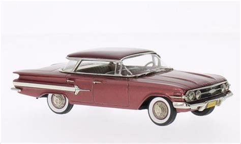 Die Cast 1 87 Porche 256b 1959 chevrolet impala 4 door hardtop sports sedan metallic