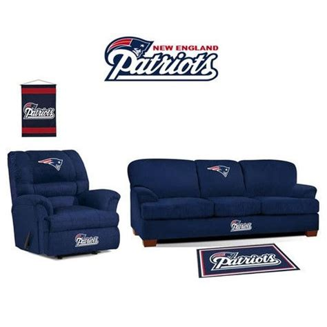 new england patriots couch new england patriots microfiber furniture set at www