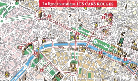 printable street map paris paris top tourist attractions map city sightseeting route