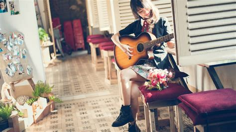 wallpaper girl with guitar women and guitars girl with guitar wallpapers and images