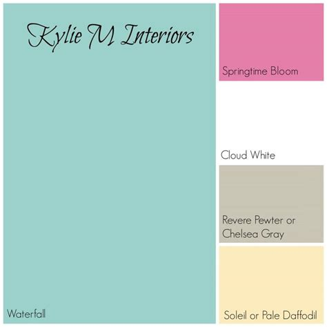 The Best Benjamin Moore Paint Colours for a Girls Room   Green Palette, Benjamin Moore Paint and