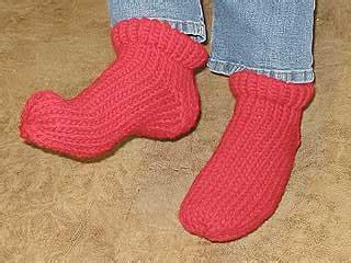 knifty knitter slipper sock pattern yarngear knitting crochet spinning sewing weaving