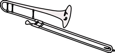 trombone 2 clip art at clker com vector clip art online