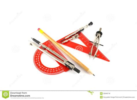 free drafting tool drawing tools royalty free stock photos image 35648718