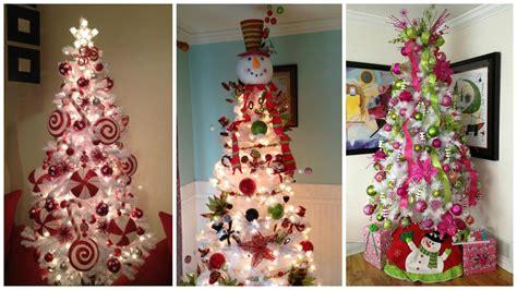 arbol de navidad de decoraci 243 n para 225 rboles de navidad blancos dale detalles