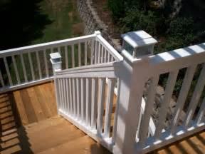 outdoor stair railing repair robinson house decor