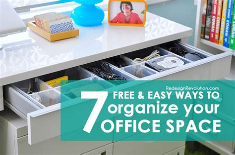 how to organize your office 7 free easy ways to organize your office space dash of wellness