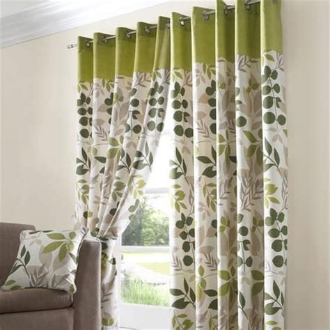 lemon green curtains green jakarta lined eyelet curtains dunelm mill home