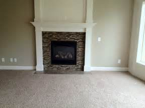 Glass Tile For Fireplace by Idea For Glass Tile On Fireplace For The Home