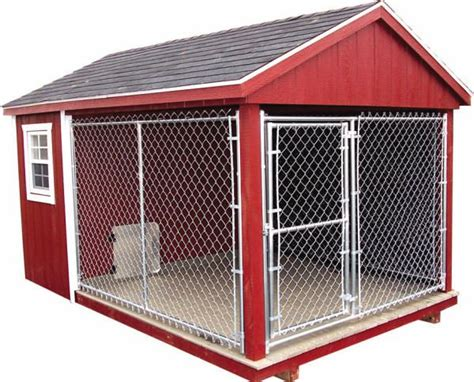 dog house with attached kennel 17 best images about dog kennels on pinterest storage shed plans best dogs and sheds