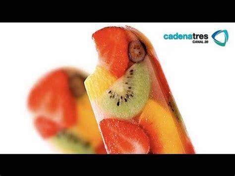 como hacer paletas de hielo con gomitas uvas y chamoy youtube receta de como preparar paletas heladas de frutos rojos