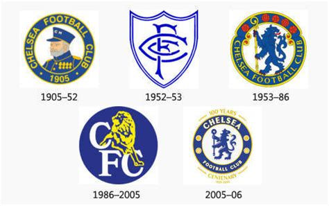 Chelsea History | chelsea logo design history and evolution