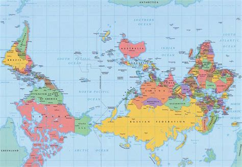 countries of southern hemisphere do in the southern hemisphere when picturing their
