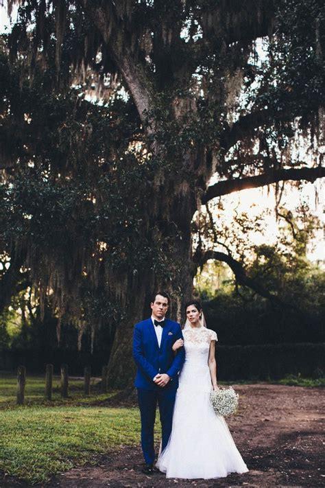 Vintage New Orleans Wedding at Audubon Park   Junebug Weddings
