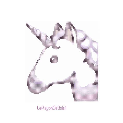 detect pattern in image modern cross stitch pattern unicorn emoji iphone pdf instant
