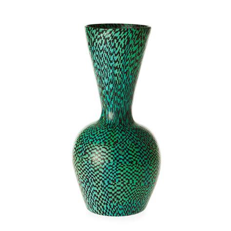 Venini Glass Vase by A Paolo Venini Murrine Glass Vase Venini Murano Italy