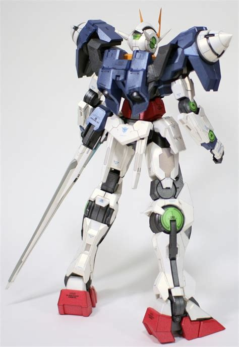 Gundam 00 Papercraft - papercraftsquare new paper craft gn 0000 gnr 010 00