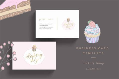 17 Bakery Business Card Designs Templates Psd Ai Indesign Eps Free Premium Templates Bakery Business Card Template