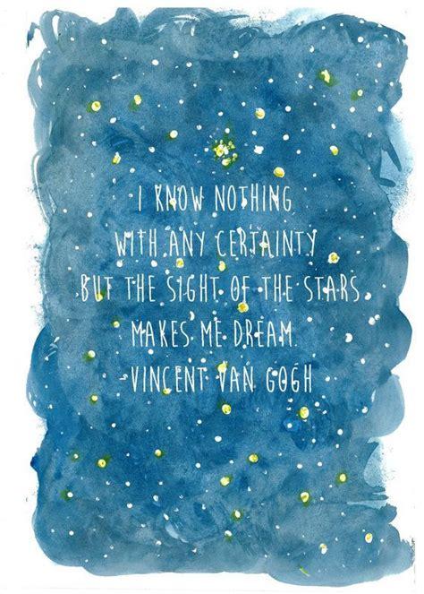 van gogh quote van gogh quotes stars quotesgram