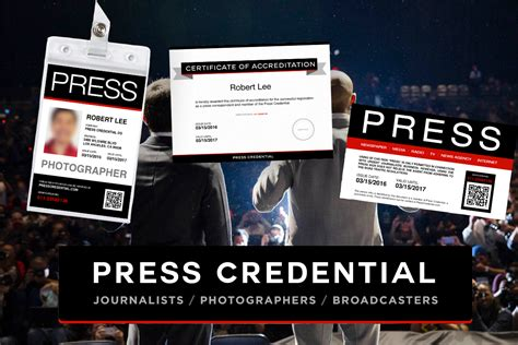 media press pass template presscredential free press pass template offers variety