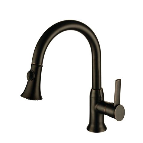 oil rubbed bronze pull down kitchen faucet y decor lazaro single handle pull down sprayer kitchen